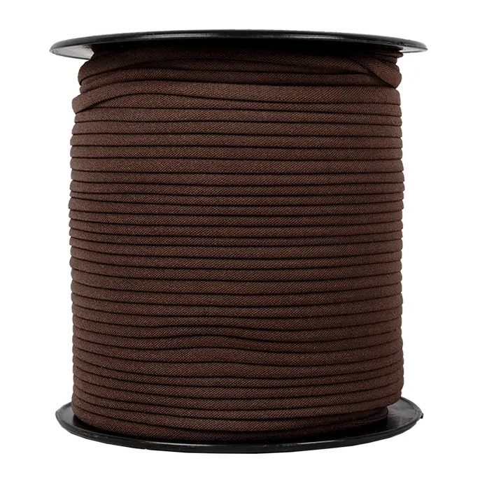 1/6 Banded Stretch Elastic Brown