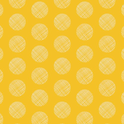 CHR-1103 Pointelle Yellow by Art Gallery 100% cotton 44 wide