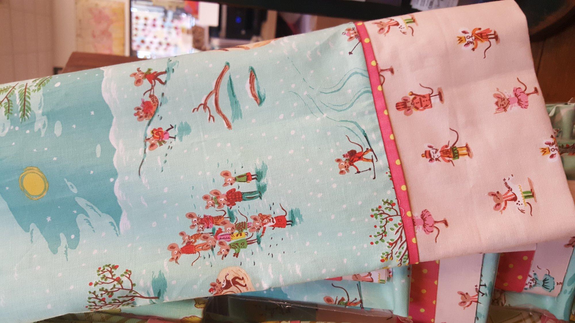 Pillowcase Kit - Christmas Mice
