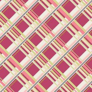 CO 9206 PLAID PASSION CHERRY FOR COQUETTE FABRIC COLLECTION BY ART GALLERY FABRICS