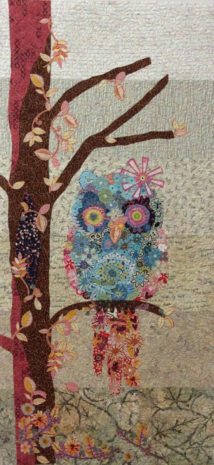 Cora the Common Owl Collage Kit - 2nd Version