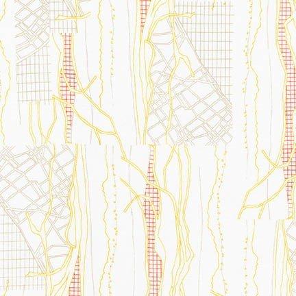 16607 371 by Carolyn Friedlander for Robert Kaufman 100% cotton 44 wide