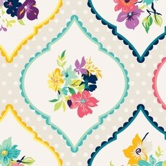 00627 Fresh Picked Fabric Gigi Blooms Collection for Adorn it Fabrics 100% cotton 44 wide