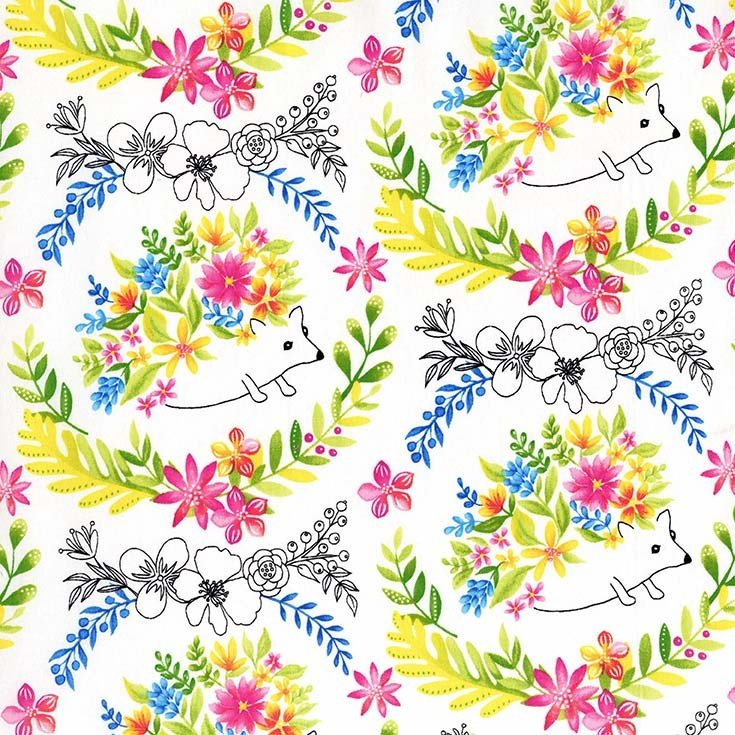 DC7540 Frolic by Tamara Kate for Michael Miller Fabrics 100% cotton 44 wide