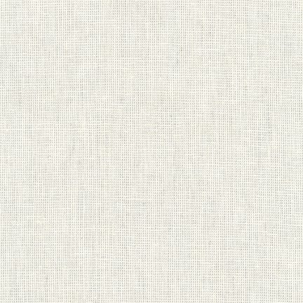 E114-133 Essex Yarn Dyed Homespun Silver by Robert Kaufman 55% linen 45% cotton