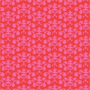 101 124 02 1 RED  EVEN A MOUSE TREE BY BLEND FABRICS