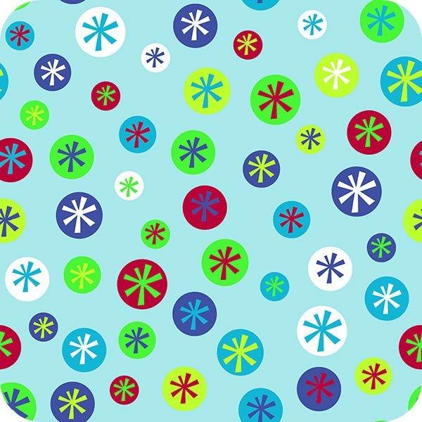 2SSC 1001 2BABYBLUE Snow Days Cuddle by Shannon Fabrics