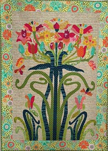 Flower Tree Pattern by Laura Heine