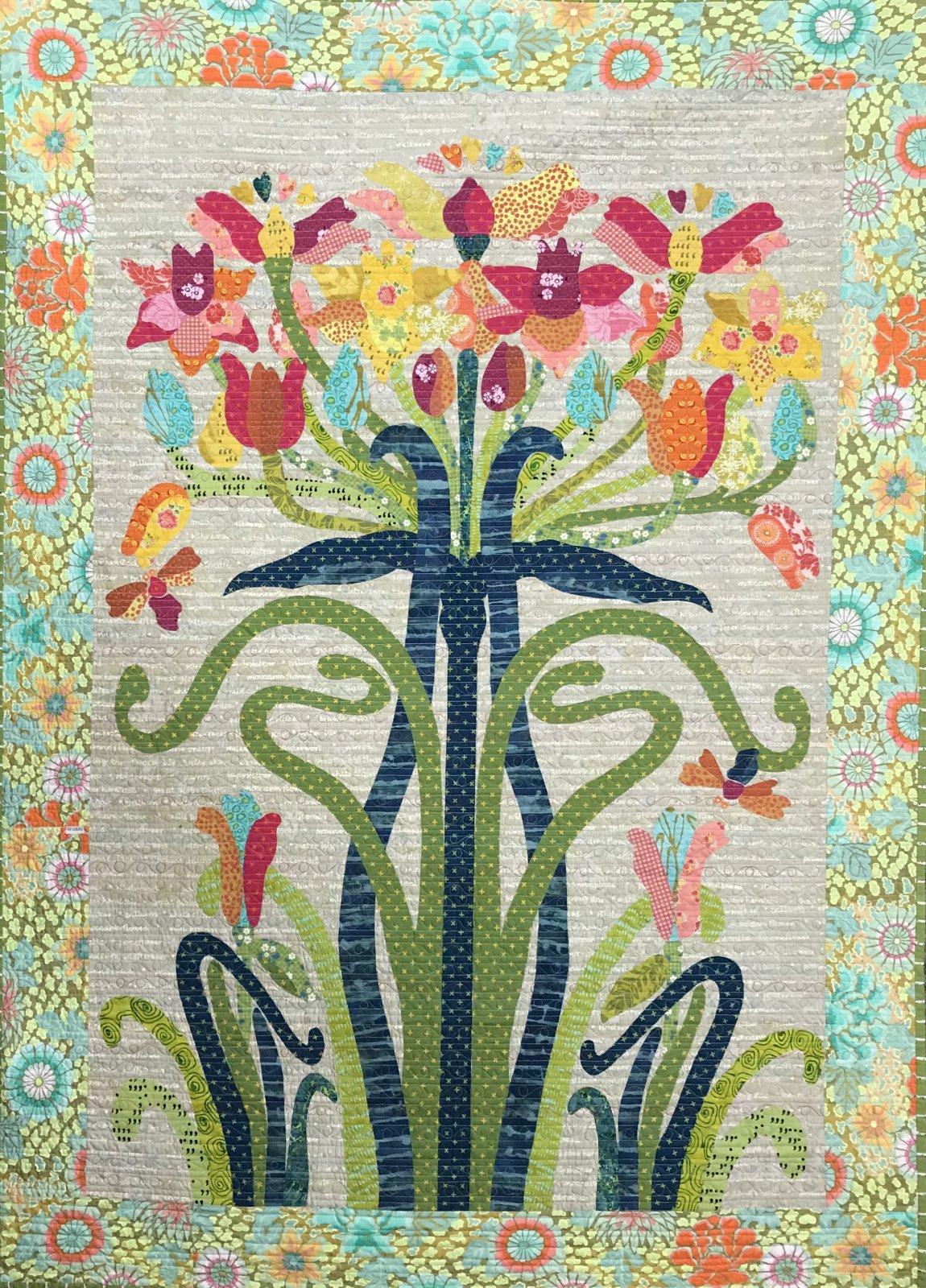 Flower Tree Quilt Lauras Destash