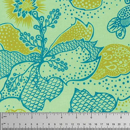 PWTC031 Lime True Colors by Anna Maria Horner for Free Spirit Fabrics