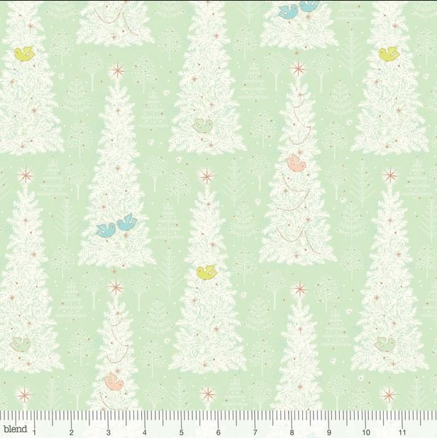 125 102 04 2 Christmas Dear by Blend for Stacy Peterson. 100% cotton 43 wide