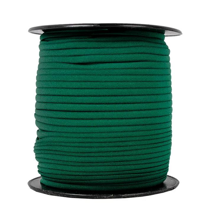 1/6 Banded Stretch Elastic Dark Green