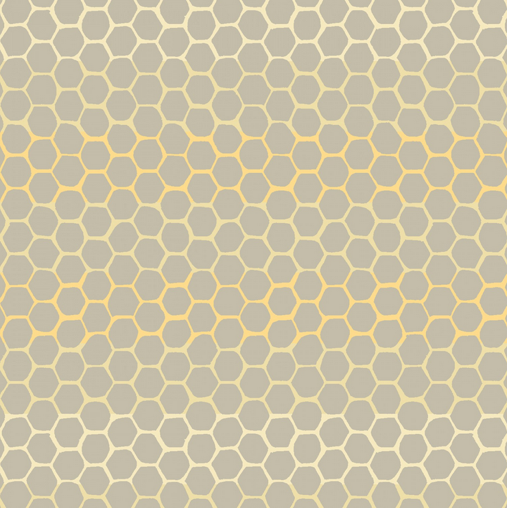 51437 2 Tell The Bees by Hackney & Co. for Windham Fabrics. 100% cotton 43 wide