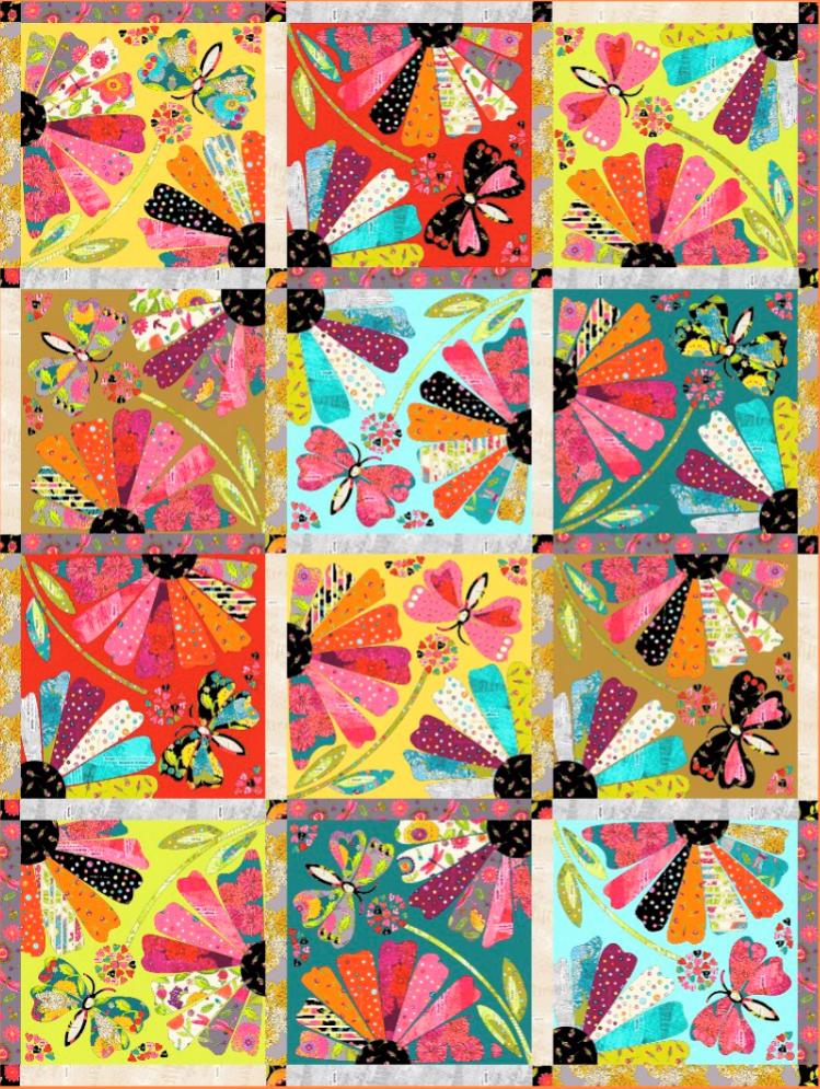 Happy Chance Garden Party Kit PRE-ORDER by Laura Heine.