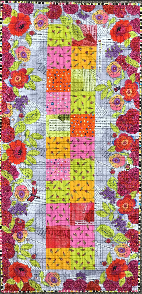 Happy Things! Collage Kit and Pattern by Laura Heine. PRE-ORDER ONLY