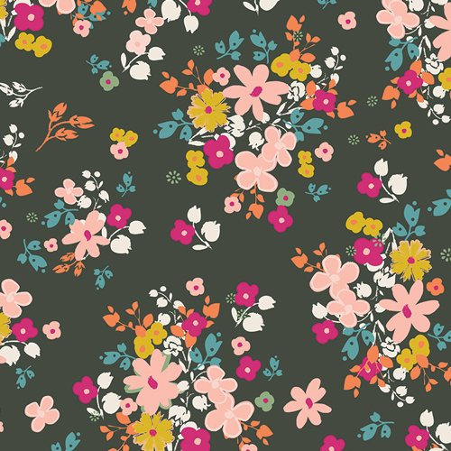 64206 Blooming Soul Laurel by Pat Bravo for Art Gallery 100% cotton 44 wide