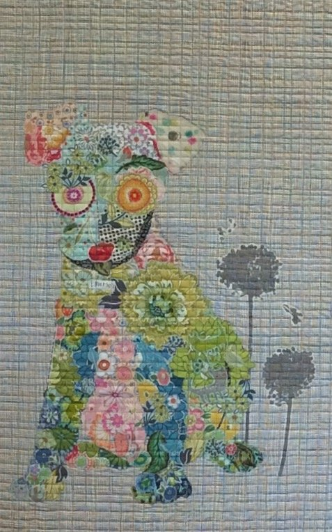 Emerson Puppy Collage Quilt Kit