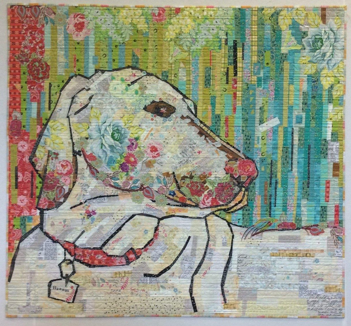 Best Friend Collage Pattern by Laura Heine