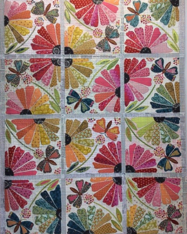 Garden Party Quilt Kit by Laura Heine