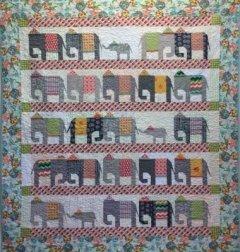 Elephant Walk Pattern