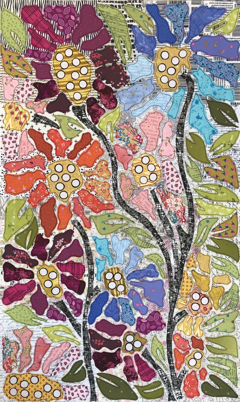 Boho Blooms Pattern #1 BOM by Laura Heine