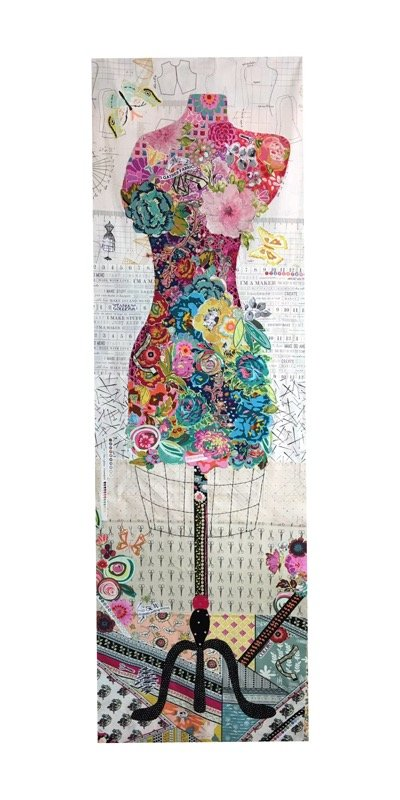Perfect Form Dress Form Collage Kit by Laura Heine