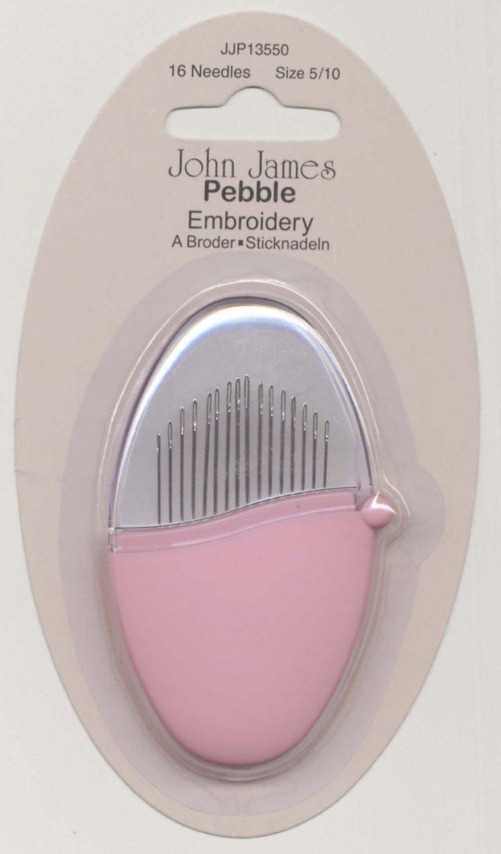 John James Pebbles Embroidery Needles size 5/10
