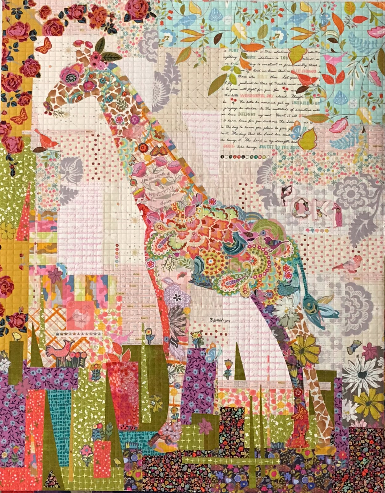 Collage Quilt Patterns : photo quilting - Adamdwight.com
