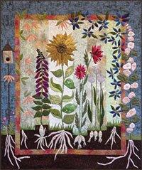 In My Garden Pattern by Laura Heine
