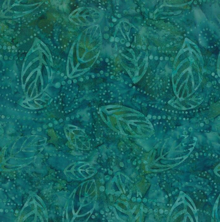 1400 22178 704 Jade Batik for Wilmington Batiks. 100% cotton 43 wide