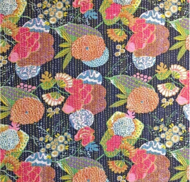 51014 X Kantha by Whistler Studios for Windham Fabrics. 100% cotton 42 wide