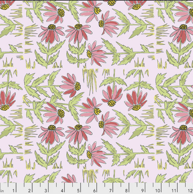 PWLH018 Pink Color Fusion by Laura Heine for FreeSpirit Fabrics. 100% cotton 43 wide