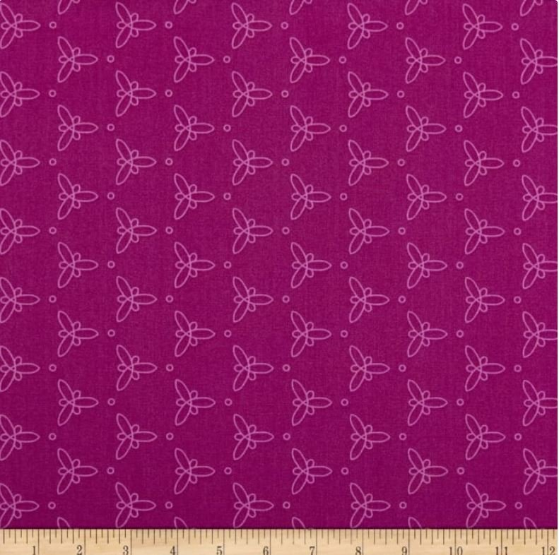 50572 6 Mulberry Gypsy by Jessica Van Denburgh for Windham Fabrics. 100% cotton 43 wide