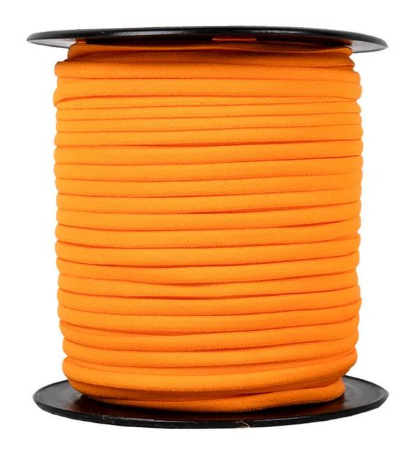 1/6 Banded Stretch Elastic Orange