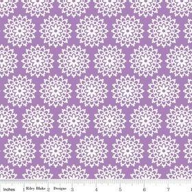 C3655 Purple Lovey Dovey by Doodlebug Design for Riley Blake Des