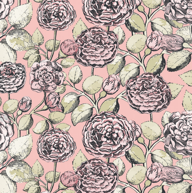 Pretty in Pink backing fabric
