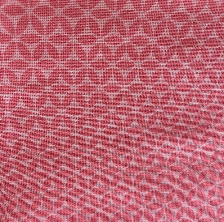 Geo Flower Tea Towel