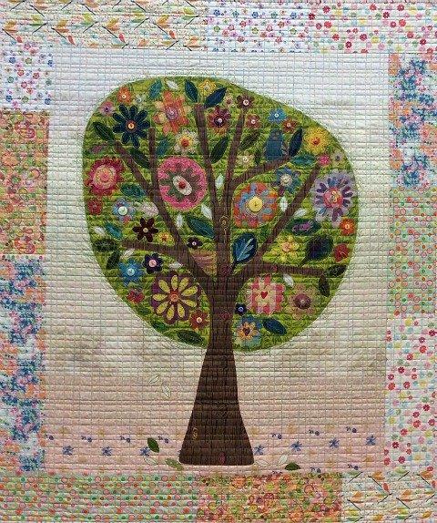 Pretty Perch Pattern by Laura Heine