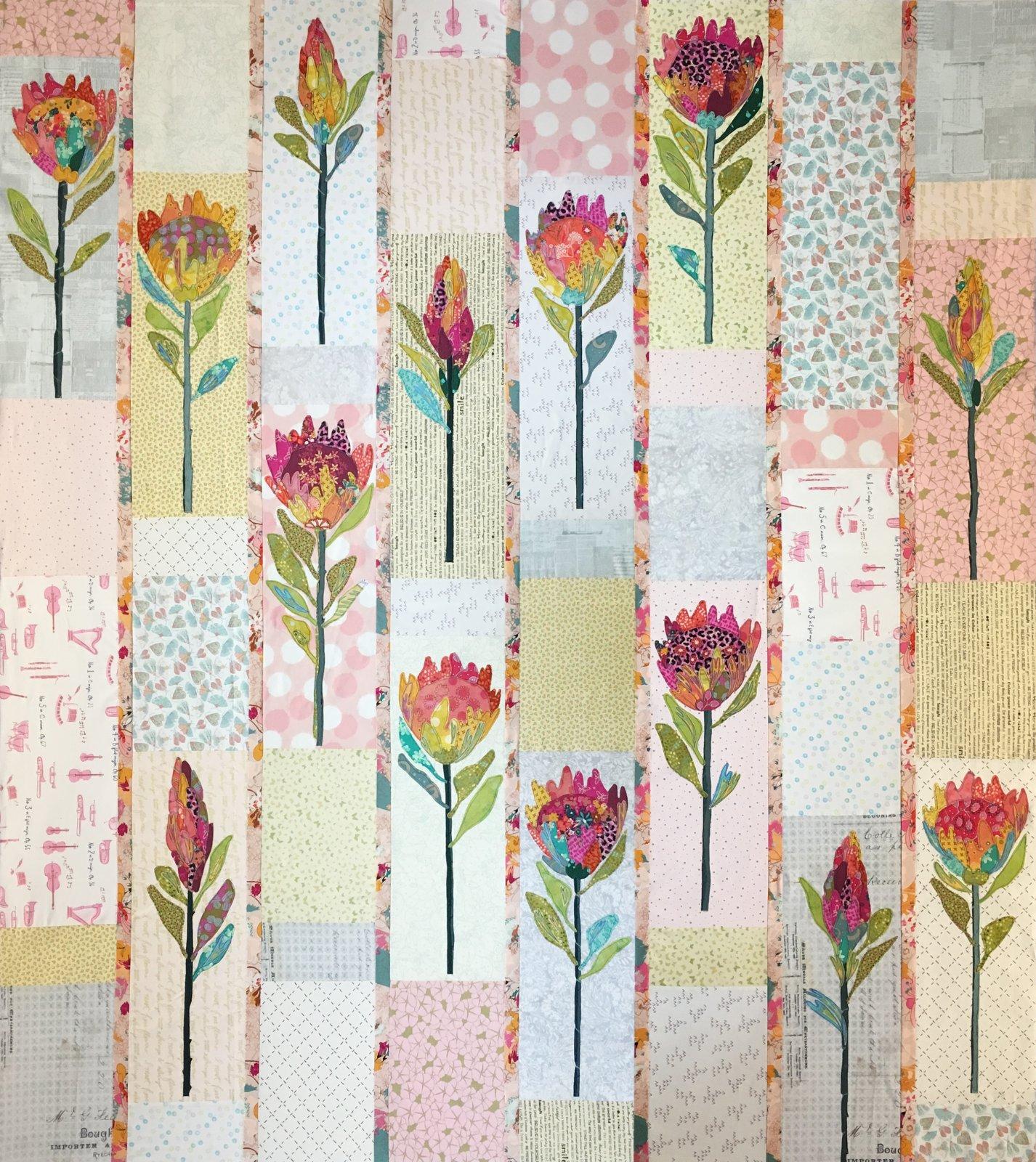 Protea Quilt Kit