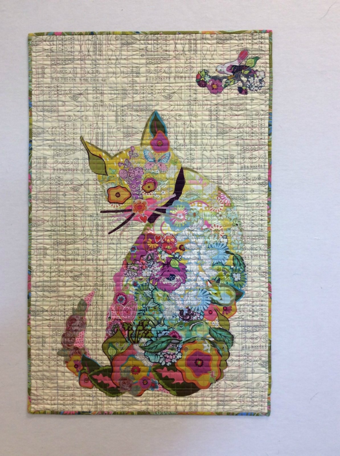 Purrfect Cat Collage Quilt Kit By Laura Heine