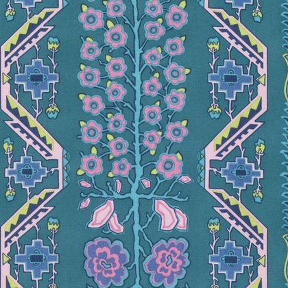 PWAB166.RIVER Native Folk by Amy Butler for Free Spirit 100% cotton 44 wide