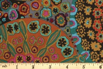 PWGP092  CLASSICS MILIEFIORE ANTIQUE BY  KAFFE FASSETT FOR FREE SPIRIT