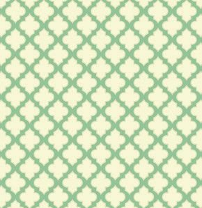 PWHB050 Turquoise Trellis Up Parasol by Heather Bailey for Free