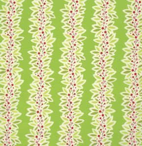 PWHB064 Green Garland from Ginger Snap by Heather Bailey for Fre