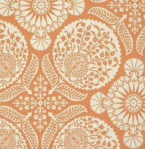 PWJD102 Carrot Flora by Joel Dewberry for Free Spirit Fabric Wes