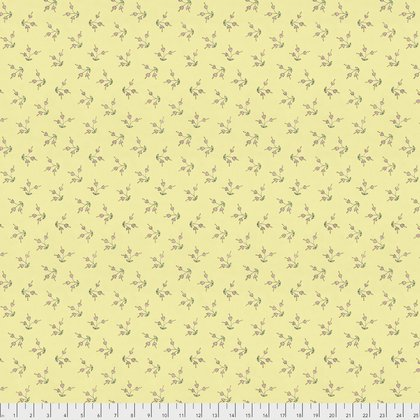 PWLH006 The Dress-Blossom-Yellow by Laura Heine for Free Spirit Fabrics 100% cotton 44 wide