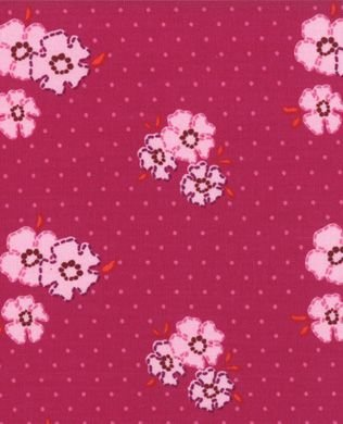 11195 13 Fuschia Ladies Stitching Club by Oliver S for Moda Fabr