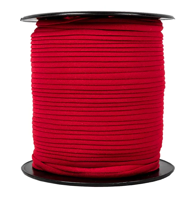 1/6 Banded Stretch Elastic Red