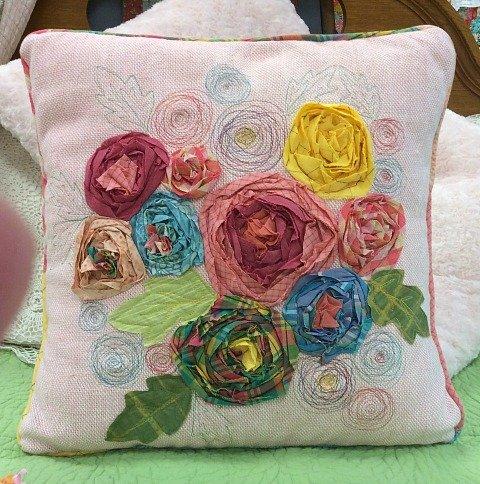 Rosette Pillow Pattern