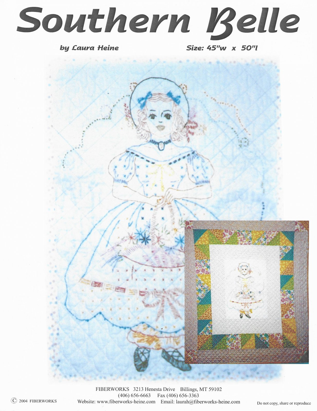 Southern Belle Kit and Pattern
